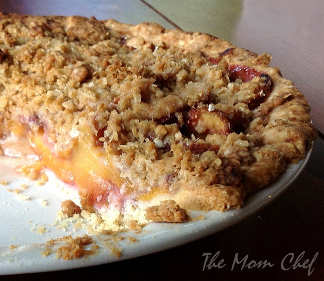 Peach Crumble Pie from Everyday Food Magazine, July/August 2011 | Rec ...