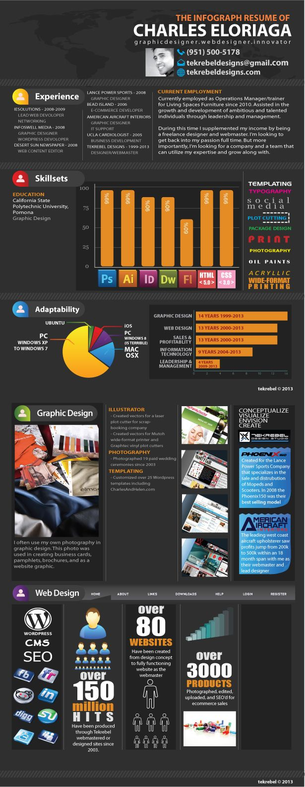 Buy infographic resume