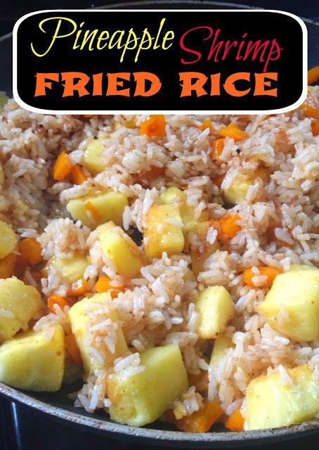 Pineapple Shrimp Fried Rice | recipes | Pinterest