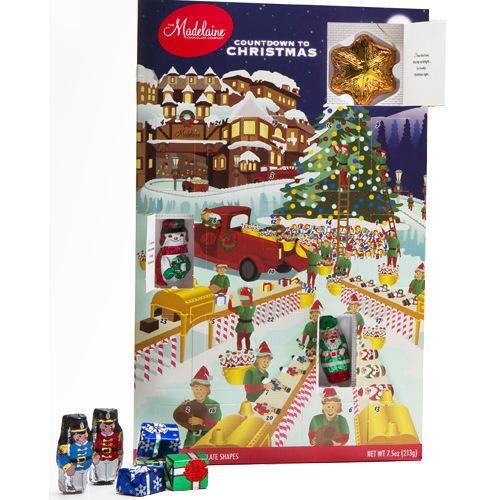Chocolate Advent Calendar Christmas Pinterest