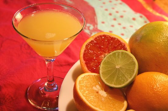 Super-Simple Citrus Cocktails — Straight Up Cocktails and Spirits