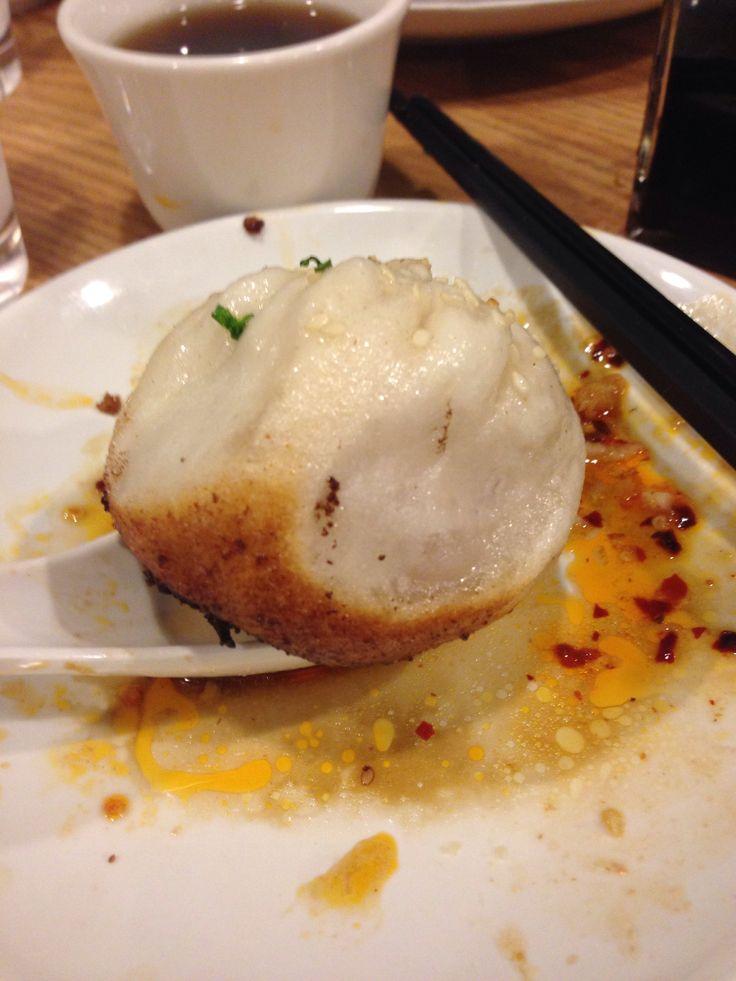 Pan fried dumplings! | Shanghai | Pinterest