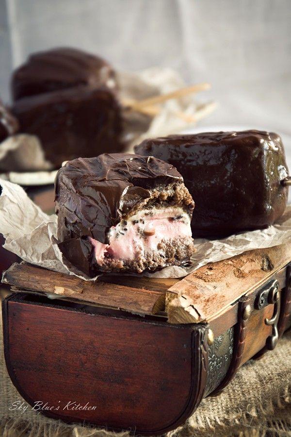 ... Kitchen : ~ Chocolate Covered Brownie Ice Cream Sandwiches