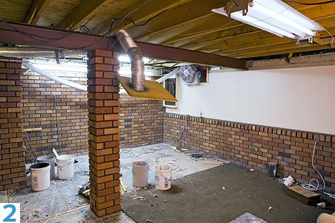 Tips On Basement Ceilings DIY Unfinished Basement Decorating Pinterest