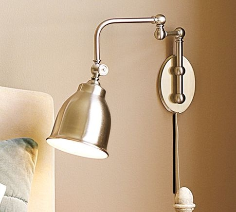 Wall Sconces Pottery Barn : Pottery Barn Stratford Wall Sconce HOME Pinterest