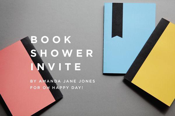 Free Printable: Book Shower Invite