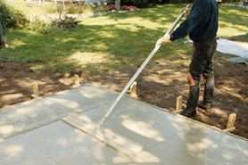 How to build a concrete shed foundation