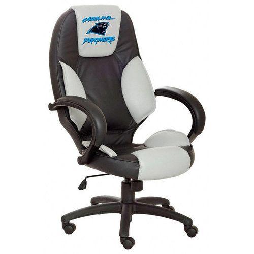 Carolina Panthers Furniture Carolina Panthers Office Chair | Cool Carolina Panthers Fan Gear | Pi ...