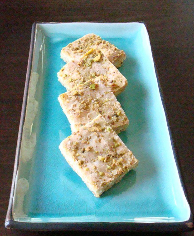 Pistachio butter cookies | Cookies. | Pinterest