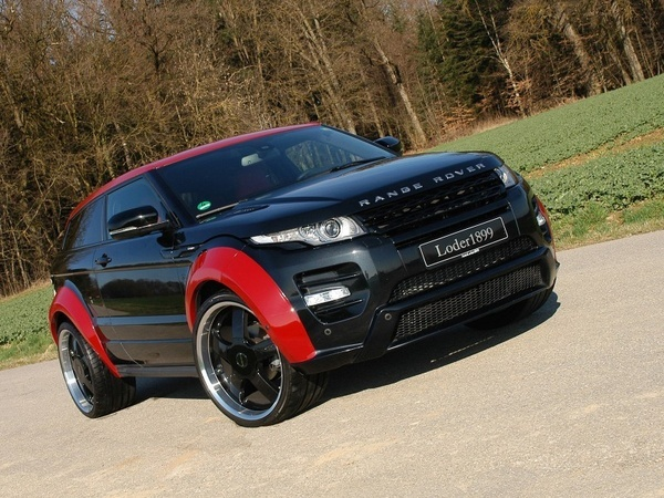 Special  Range Rover Evoque Horus tuning by German tuner Loder1899.