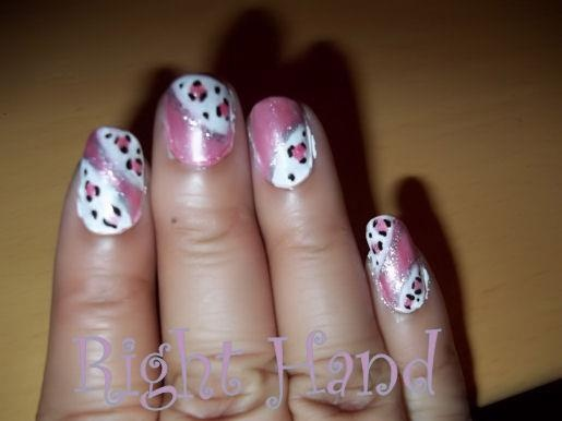 pretty Pink and Leopard print | nails and toesies! | Pinterest