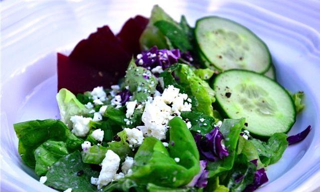 Fresh Beet & Feta Salad via @Sandy Coughlin | Reluctant Entertainer.com
