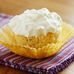 Pineapple Bliss Cupcakes - Low fat, yet blissful!
