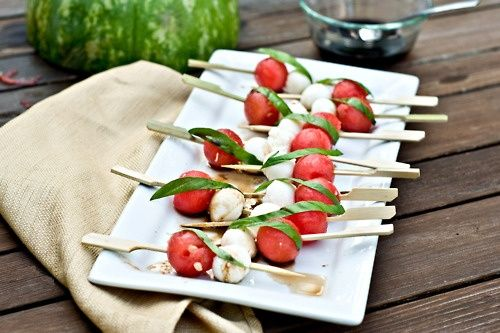 Peach Tomato And Mozzarella Crostini | Recipes | Pinterest