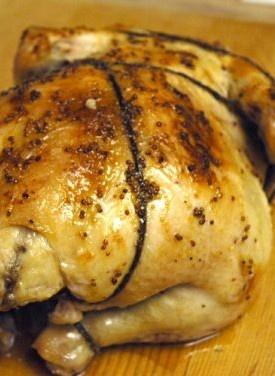 Honey-Dijon Roasted Chicken   Chicken   Pinterest