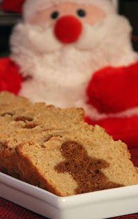 Eggnog and Gingerbread Surprise Loaf | Gingerbread Galore | Pinterest