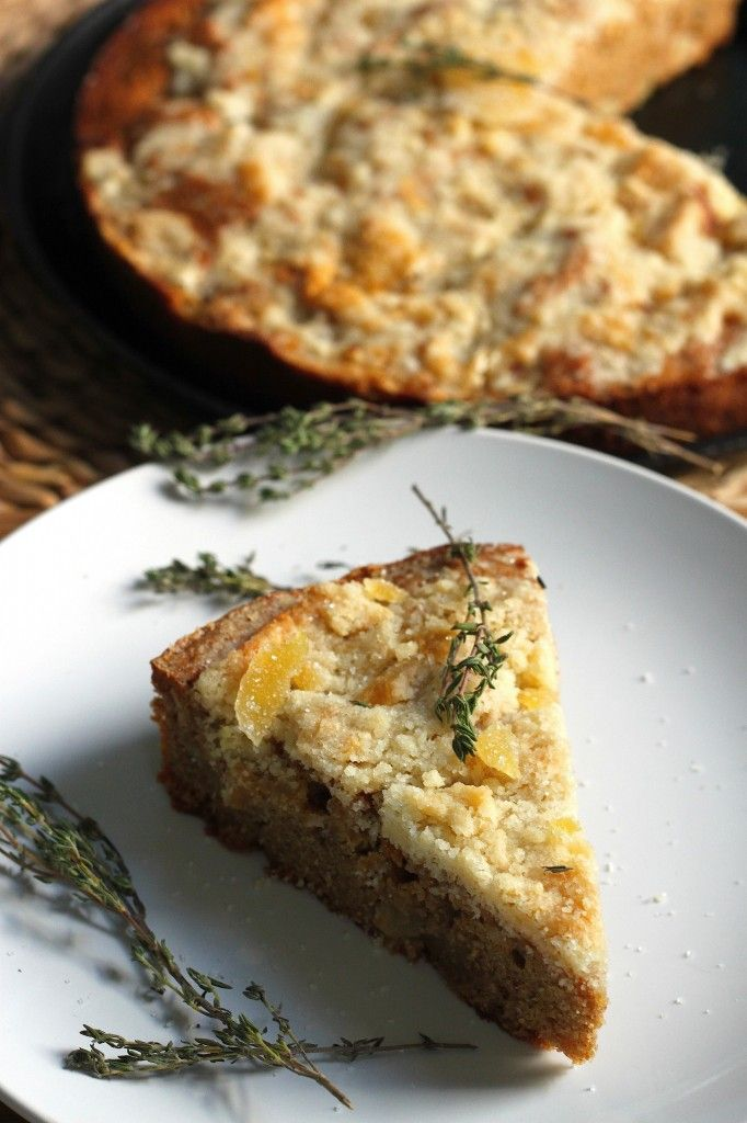 Apple Pie With Lemon Thyme And Ginger Recipes — Dishmaps