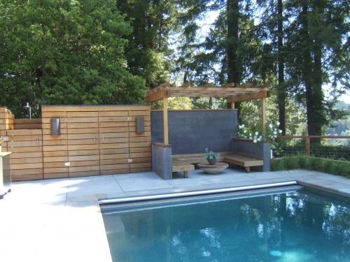 Cool backyard pool house swimming pool ideas pinterest - Cool backyard swimming pools ...