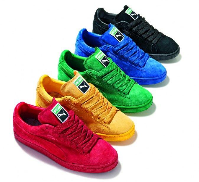 Puma Suede Eco Tonal Pack http://www.facebook.com/DressShoesandSneaker