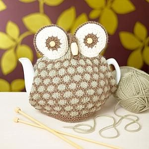 Knitted Owl Tea Cosy Pattern : FREE KNITTING PATTERN OWL TEA COSY - VERY SIMPLE FREE KNITTING PATTERNS