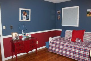 Red and blue boy 39 s bedroom furniture accessories boy - Blue and red boys bedroom ...