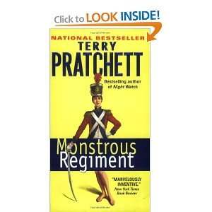 Terry Pratchett, one of my favorite authors, and one of my favorite books by him.
