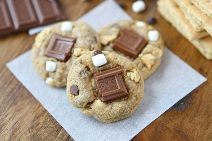 Mini S'mores Cookies | Food/Drink | Pinterest