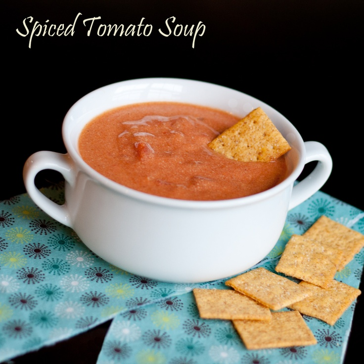 Soup - Spice up regular tomato soup with cumin, ginger, cinnamon ...