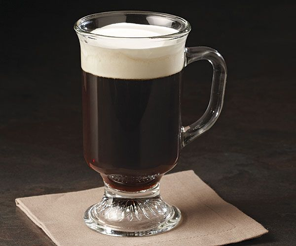 Irish coffee drink recipe