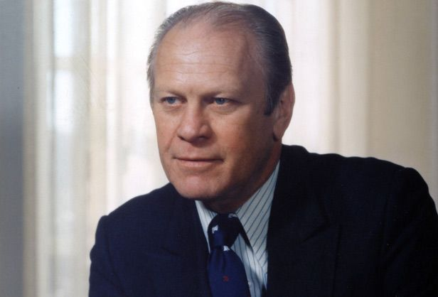 August 19 U S President Gerald Ford Edges Out