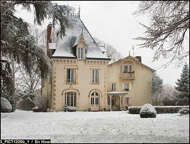 Chateau In France Captured By Snow Pinterest