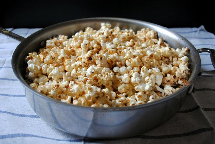 sugar-and-spice popcorn | Appetizer/Snacks | Pinterest