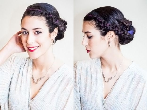 Holiday Party Updo | My hairstyles | Pinterest