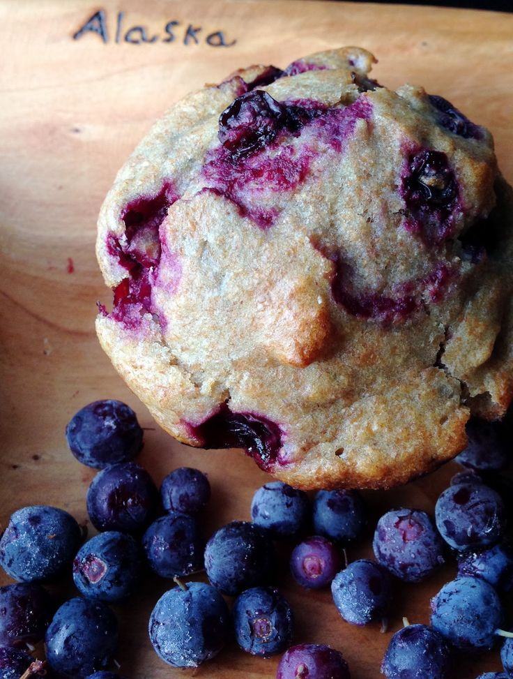 Healthy blueberry muffins recipe | Eat to Live | Pinterest