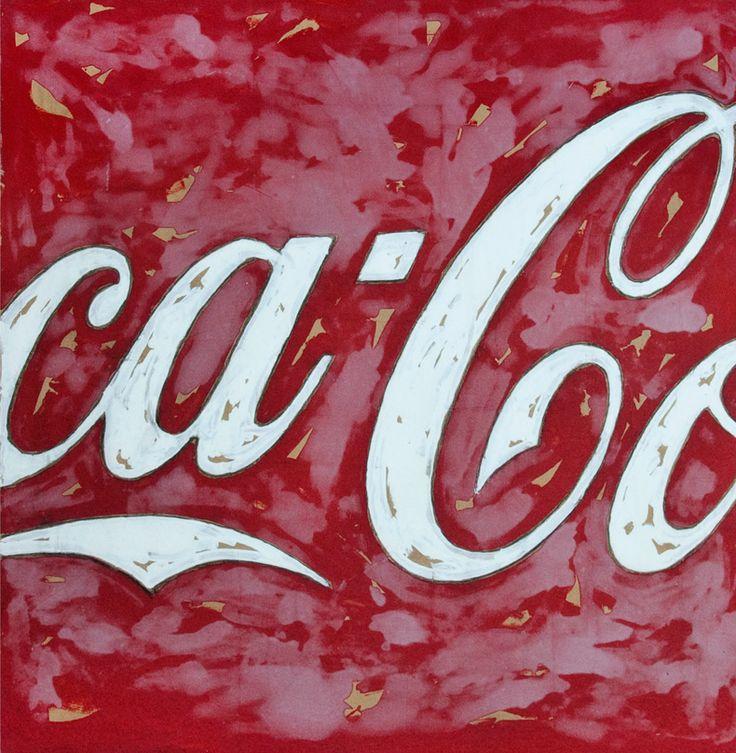 Mario schifano coca cola art i liked pinterest
