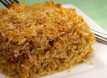 Coconut Apple Cake Recipe — Dishmaps