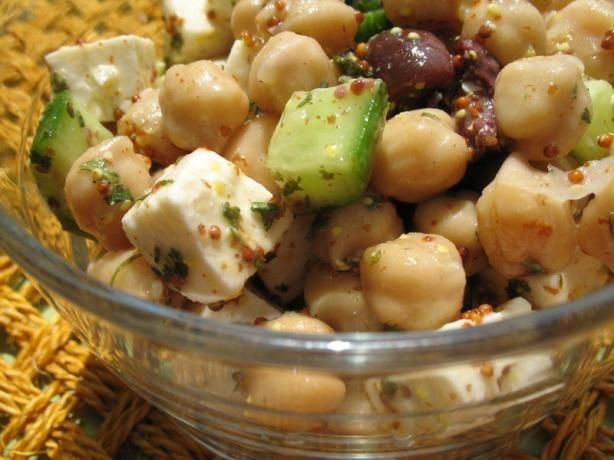 Greek-Style Chickpea Salad A Cook's Illustrated Recipe