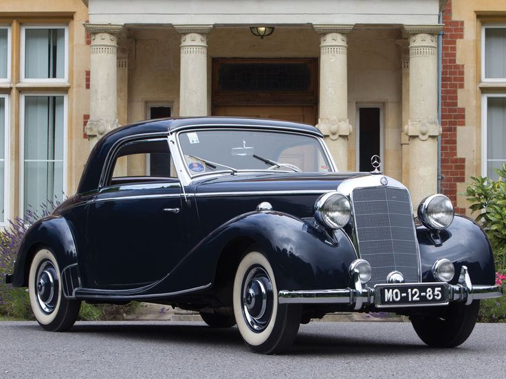 1951 mercedes benz 170 s coup german classic cars pinterest. Black Bedroom Furniture Sets. Home Design Ideas