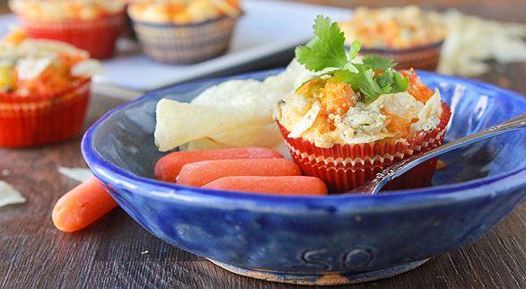 Impossibly Easy Mini Buffalo Chicken Pies | Recipe