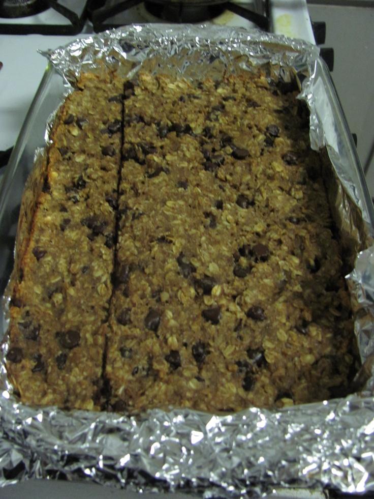 Homemade banana nut granola bars! | ~*Recipes*~ | Pinterest