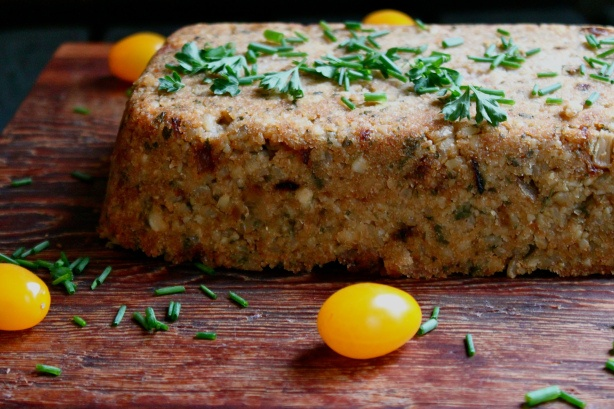 cashew rice loaf with red pepper sauce from in pursuit of more: living ...