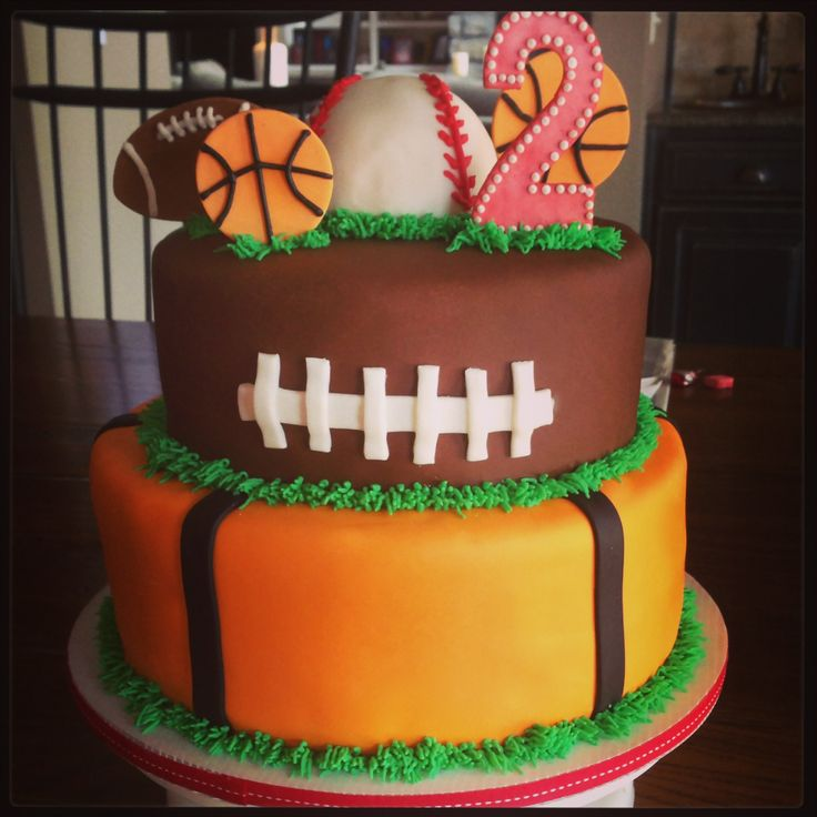Cake Decorations For Sports : Sports cake Party Ideas Pinterest