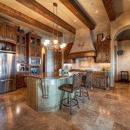 Mediterranean Kitchen Design on Mediterranean Kitchen French Country Design  Pictures        Kitchens
