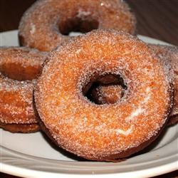 Plain Cake Doughnuts Allrecipes.com....yum.....LOVE cake donuts.