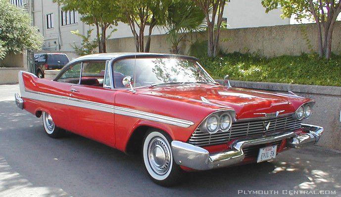 Cadillac Modelos Antiguos >> Christine 1958 Plymouth Fury | 1958 Plymouth Fury | Pinterest