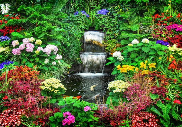 Most Amazing Flower Gardens In The World Garden Pinterest