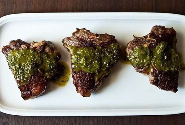 Chimichurri Lamb Chops | 9 Fresh Ideas Grill In Labor Day | Pinterest