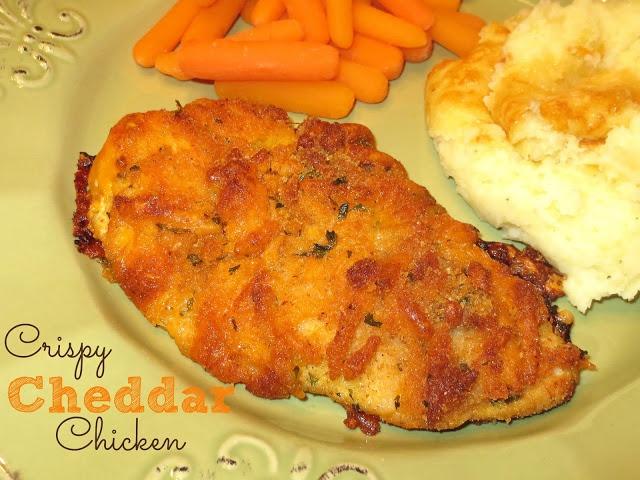 Kaitlin in the Kitchen}: Crispy Cheddar Chicken