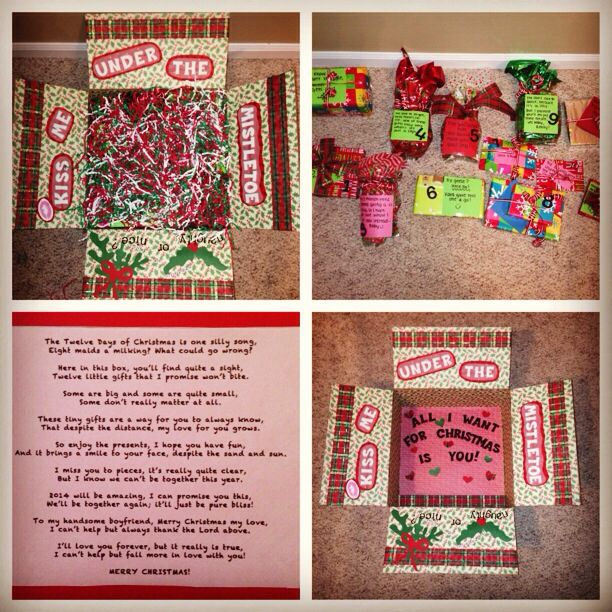 25 best ideas about christmas care package on pinterest diy gifts for 12  best 12days - Christmas Sampler Gift 12 Days Of Coffees Teas Or Cocoas Hot