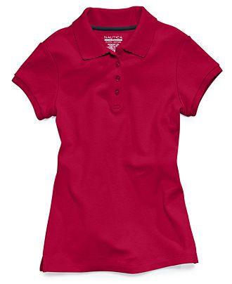 ... Shirt, Little Girls Uniform Polo Tee - Kids School Uniforms - Macy's